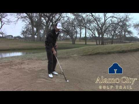 How to play a Wet Sand Lie with Golf Instructor Weston Neesham