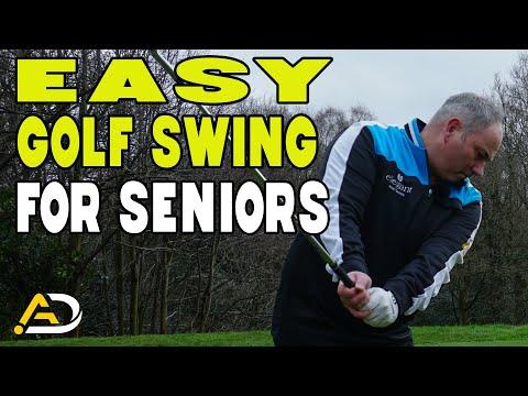 Easiest Golf Swing For Seniors