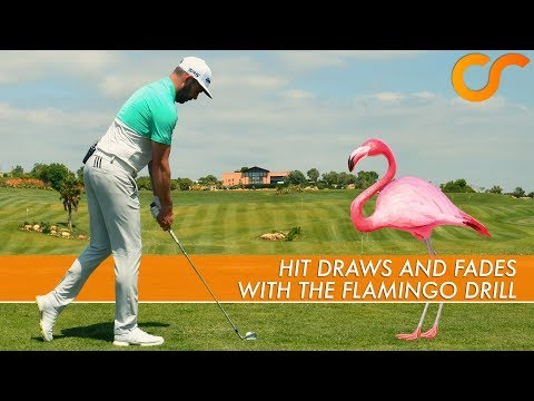HIT DRAWS AND FADES WITH THIS SIMPLE GOLF DRILL