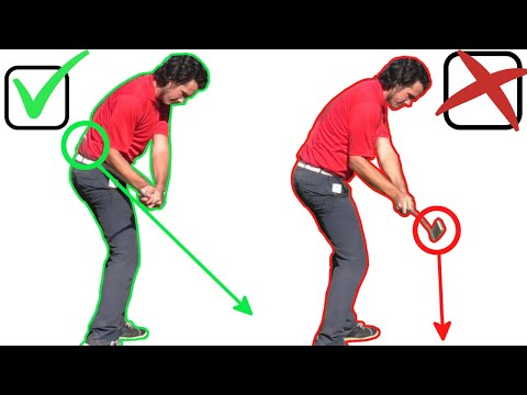 HOW TO HIT IT GOOD EVERY TIME LIKE THE PROS (INCREDIBLE GOLF TIP)