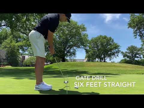 FLYT Golf. Putting Series. Video 2. Gate Drill.