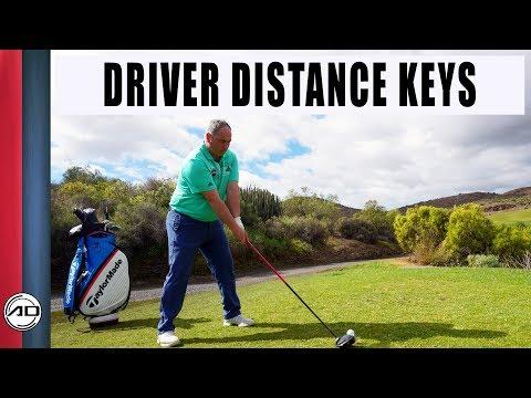 Golf – Driver Distance Keys