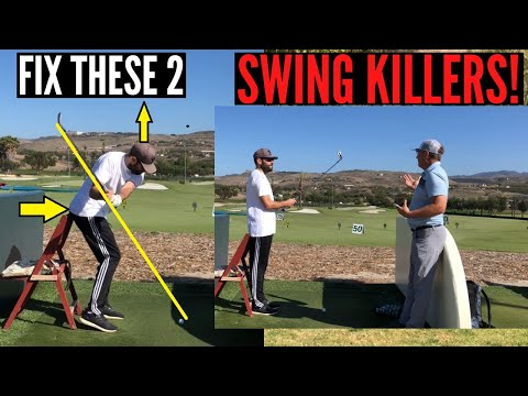 Fix These 2 Swing Killers for Longer Straighter Shots!