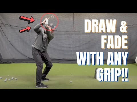 EASY WAY TO DRAW AND FADE CONSISTENTLY WITH ANY GOLF SWING🎯More fairways and greens in regulation😎