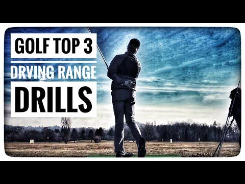 GOLF – TOP 3 DRIVING RANGE ÜBUNGEN | um den Golfschwung zu verbessern