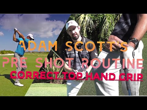 Correct Top Hand Grip EVERYTIME (Learn from Adam Scott)