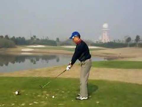 3 golf swing left handed ゴルフスイング 高尔夫 挥杆