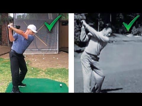 Ben Hogan's Secret Driver Swing Drill! Yes You Can Swing Like Hogan!