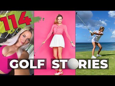 GOLF STORIES #114 #golf #course #driver #girl #pga #tour #tigerwoods #pagespiranac #fails #fun #sexy