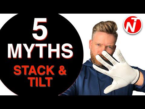 5 MYTHS OF STACK & TILT   GOLF TIPS   LESSON 174