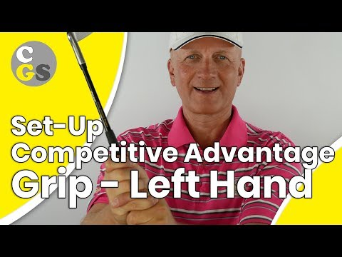 Grip of the Left Hand  – Competition Advantages | CONSISTENCY GOLF SWING