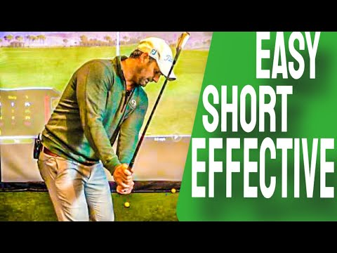 Short Backswing Move | AMAZINGLY Easy Golf Swing for Seniors(+most players) IF You Do This🏌🏆