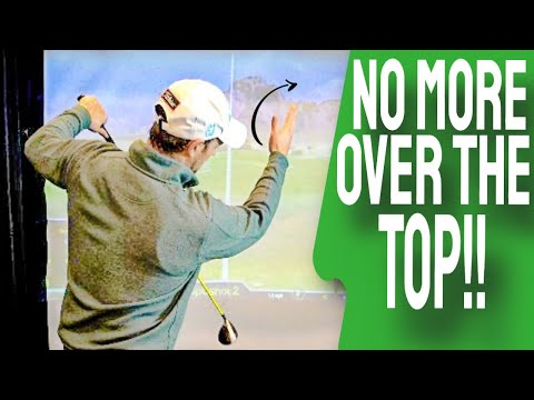 Over The Top Golf Swing NO MORE | 3 EASY Keys To Straighter Golf Shots