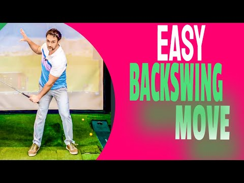 Easy Golf Swing To Learn   Simple Thought For A Great Backswing Everytime