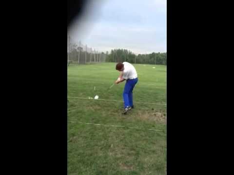 Left handed golf swing logan warren