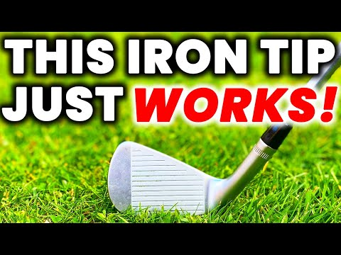 The Secret to Effortless Power AND Accuracy in the Golf Swing – This IRON TIP Just Works!