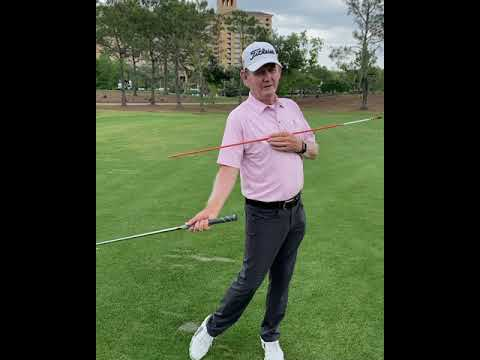 Sequencing the pivot with the arms, hands and wrists swinging the golf club.