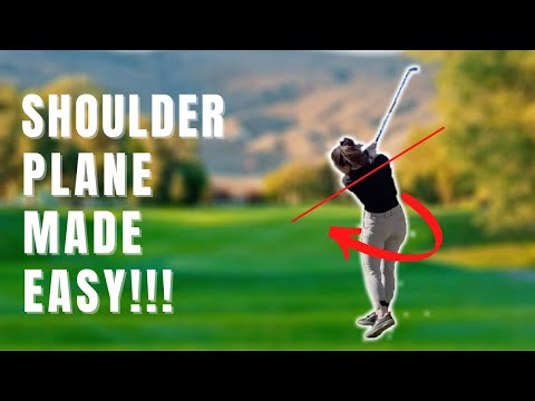GET A PERFECT GOLF SWING SHOULDER PLANE INSTANTLY🎯 Send rockets to the target!🚀