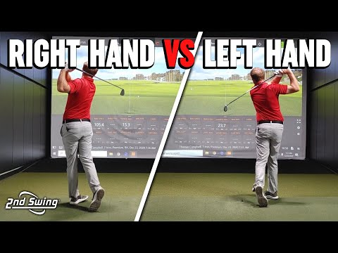 Thomas' Left Handed vs Right Handed Swing | Breaking Down Key Trackman Data