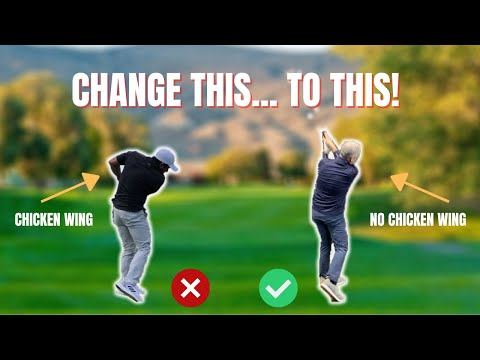 HOW TO STOP THE FLIP AND CHICKEN WING in your golf swing! | WISDOM IN GOLF | GOLF WRX |