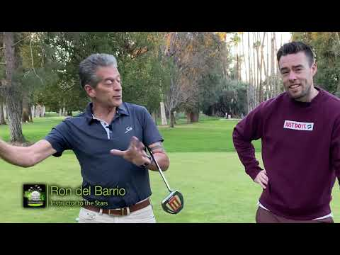 Talk Golfing to Me – Putting Lesson with Golf Legendary Instructor Ron del Barrio AKA RDB Golf Tips!