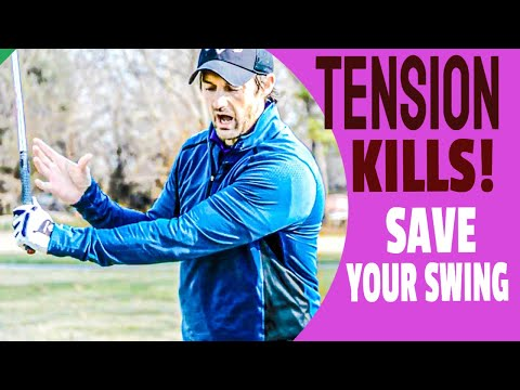 Let Go Of Tension That Kills Your Golf Swing Like This And Take A BREATH