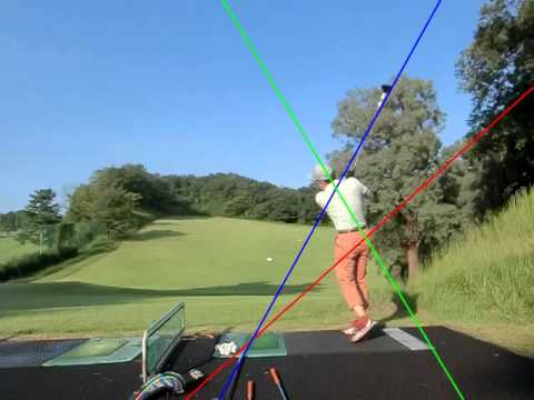 219 golf swing left handed Driver back view 20140914 by FC400S  CIMG0239