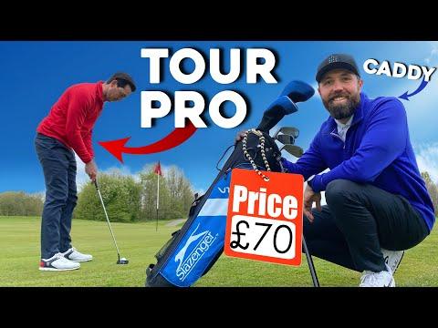 Can a tour pro BREAK PAR with £70 golf clubs!?