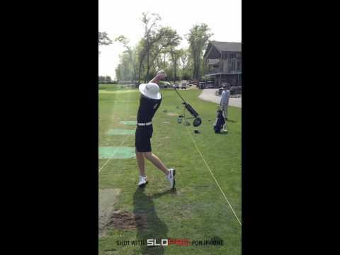 Left Handed Golf Swing Eric Boysen