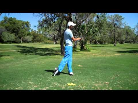 Making an Athletic Weight Transfer in your Golf Swing w/ Weston Neesham