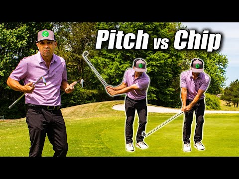 PITCHING vs CHIPPING and the ONE Key You Must Know