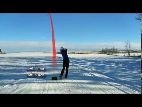 Left Handed| Fade| Canadian Winter| Golf Swing