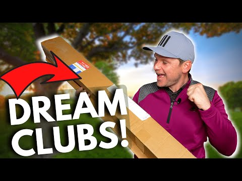 I FINALLY BOUGHT MY DREAM GOLF CLUBS!!!