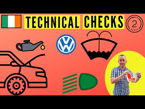 Driving Test Tips Ireland – Engine & Secondary Controls