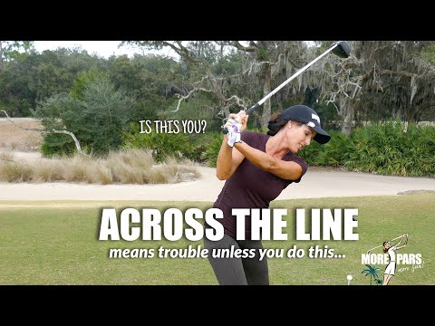 GOLF TIP: ARE YOU ACROSS THE LINE?