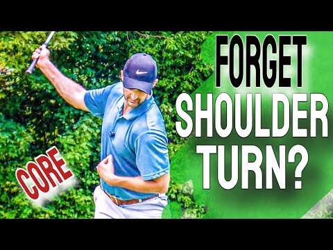 NO MORE Shoulder Turn In the Golf Swing – Do This With Your Rib Cage Instead!