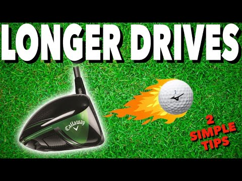 2 TOP DRIVING TIPS FOR MORE DISTANCE – Simple Golf Tips