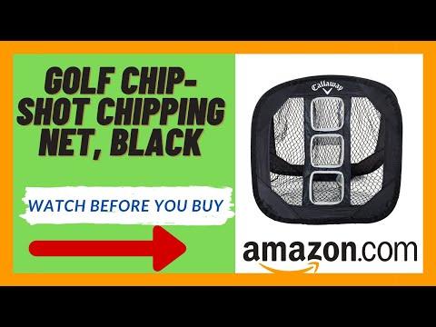 Golf Chip Shot Chipping Net, Black