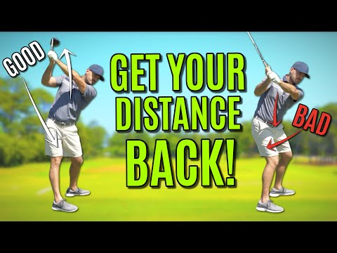 The BEST Backswing For Seniors | Get Your Distance Back!