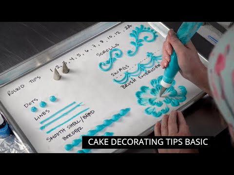 Ultimate Cake Decorating Piping Tips Buying Guide [ Cake Decorating For Beginners ]