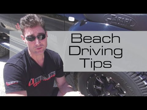 How to drive on the beach, sand and dunes – tips for beginners