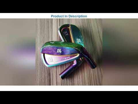TOP 8 2021 ITOBORI MT Golf Forged Iron Head Aaron Color Driver Wood Wedge Putter Package Set Club M
