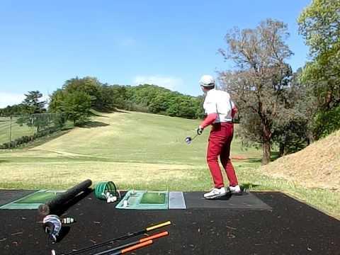 258 golf swing left handed 2017-04-23 Driver