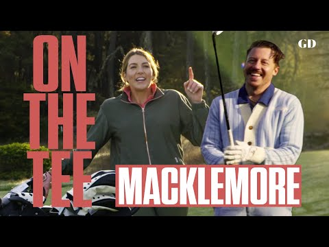 Macklemore Takes On Scratch Golfer In 3-Hole Match | On The Tee | Golf Digest