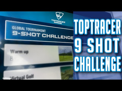 TOPTRACER PGA CHAMPIONSHIP 9 SHOT CHALLENGE! CAN WE GET #1 IN THE WORLD?