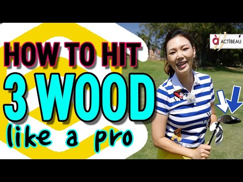 How to Hit 3 Wood | Golf with Aimee