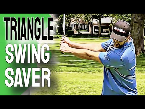 Use This EASY Golf Swing | This TRIANGLE Swing Will Clear Your Confused Brain On The Course