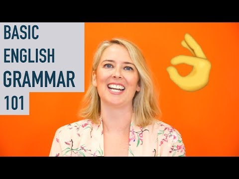 Basic English Grammar Lessons 101: Rules for Beginners