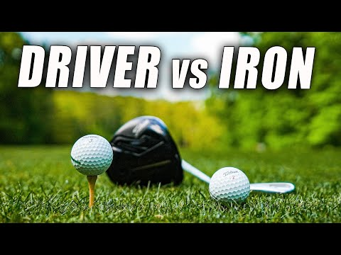 DRIVER vs IRON SWING What is the REAL DIFFERENCE?