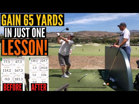 Increase Your Drive by up to 65 Yards – IN ONE LESSON!